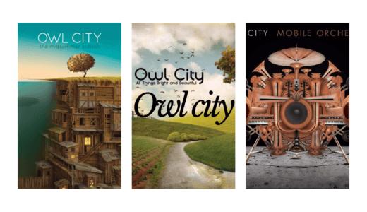 超爽やかな楽曲が特徴的なOwl city特集