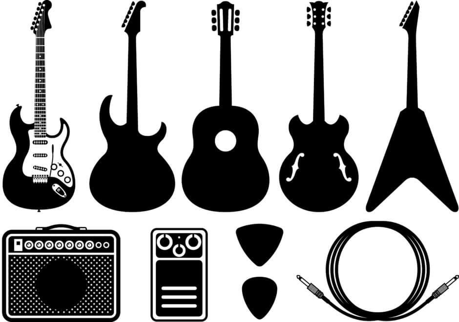 お勧め具体例!オンラインギターレッスンで必要な安くて良い物3選